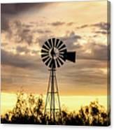 2017_09_midland Tx_windmill 6 Canvas Print