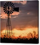 2017_09_midland Tx_windmill 7 Canvas Print