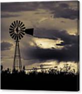 2017_09_midland Tx_windmill 8 Canvas Print