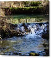 2018_2_12  Mountian Stream-4218 Canvas Print