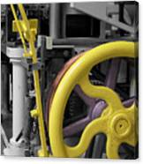20th Century Mechanical Machinery Sc Canvas Print