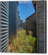 Back Alley On The Prairies Canvas Print