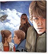 Star Wars Episode 5 Poster Canvas Print