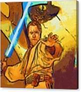 Star Wars Galactic Heroes Poster Canvas Print