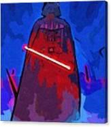 Vintage Star Wars Poster Canvas Print