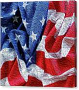 American Flag 40 Canvas Print