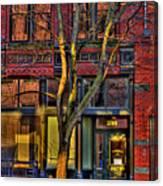 219 Washington Street Canvas Print