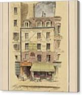 Drawn To Paris Canvas Print