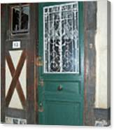 French Doors Canvas Print