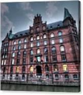 Hamburg Germany Canvas Print
