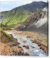 Landmannalaugar - Iceland Canvas Print