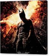 The Dark Knight Rises 2012  Canvas Print