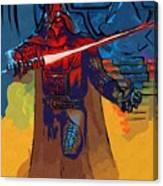 Video Star Wars Art Canvas Print
