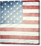 American Flag 37 Canvas Print