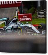 Formula 1 Monza Canvas Print