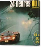 24 Hours Of Le Mans - 1971 Canvas Print