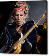 Keith Richards Collection Canvas Print