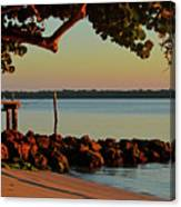 24- Morning In North Palm Beach Canvas Print