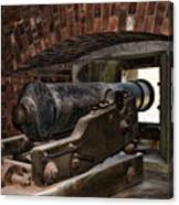 24 Pounder Cannon Canvas Print