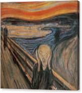 The Scream Canvas Print