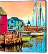 2449   Rockport Canvas Print