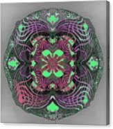 2451 Mandala A Canvas Print