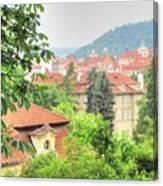 Praha Canvas Print