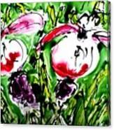 The Divine Flower Canvas Print
