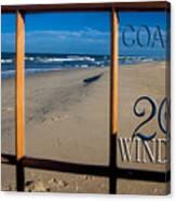 26 Windows Coastal Canvas Print