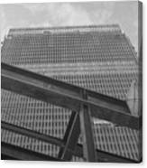 World Trade Center Under Construction 1967 Canvas Print