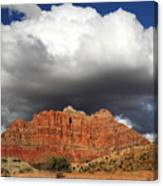 Zion National Park In Autumn Canvas Print