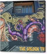 2635- Golden Triangle Canvas Print