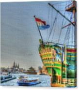 264 Amsterdam Canvas Print