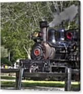 267 - Roaring Camp Train No 7 Hdr Canvas Print