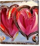 Hearts Canvas Print