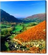 Path Landscape Light Canvas Print