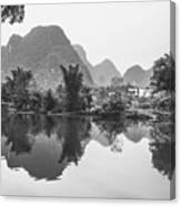 Yulong River Scenery Canvas Print
