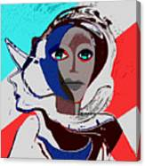 270 - Flashy Woman - Poster 2   Canvas Print