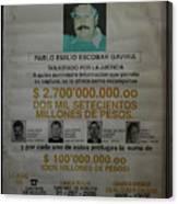 Bogota Museo Historico Policia Canvas Print
