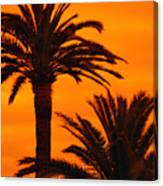 Sunrise And Sunset Canvas Print