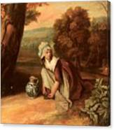 Walton Henry A Country Maid Henry Walton Canvas Print