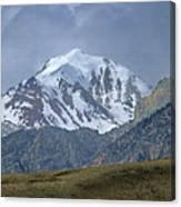 2d07508 High Peak In Lost River Range Canvas Print