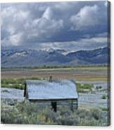 2d07515 Abandoned Cabin Canvas Print