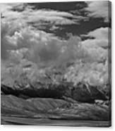 2d07517-bw Storm Over Lost River Range Canvas Print