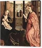 2luke Rogier Van Der Weyden Canvas Print