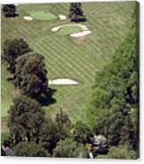 2nd Hole Philadelphia Cricket Club St Martins Golf Course Canvas Print
