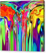 2x1 Abstract 312 Canvas Print