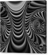 2x1 Abstract 435 Bw Canvas Print