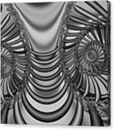 2x1 Abstract 436 Bw Canvas Print