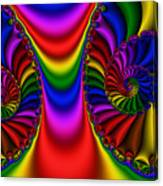 2x1 Abstract 440 Canvas Print
